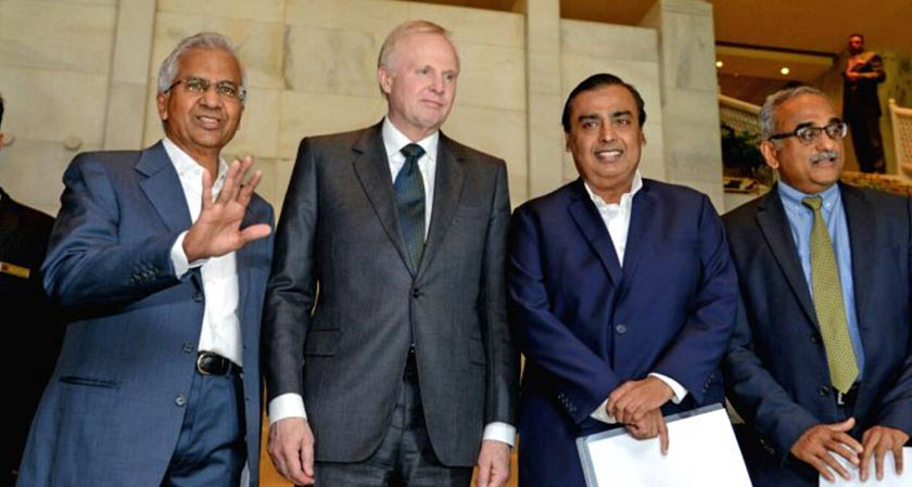 MukeshAmbani's Reliance Industries and BP will be Extending Partnership in India