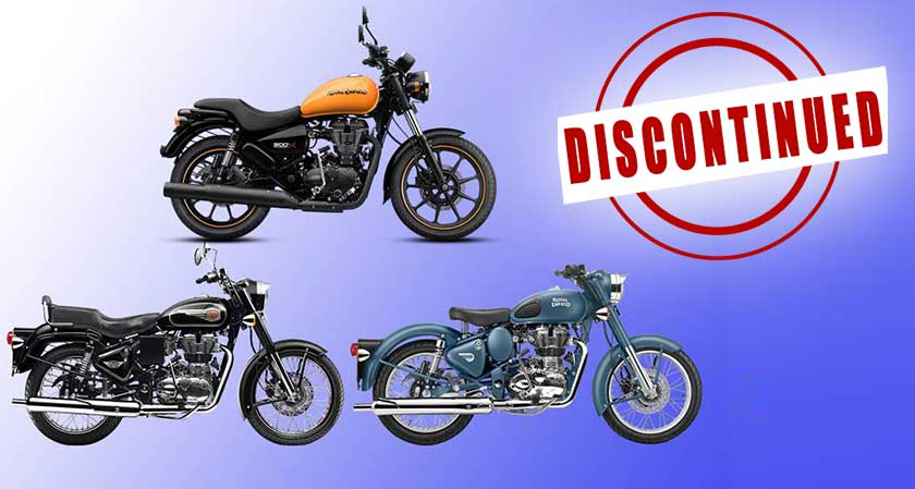 Royal Enfield to Discontinue 500cc Range