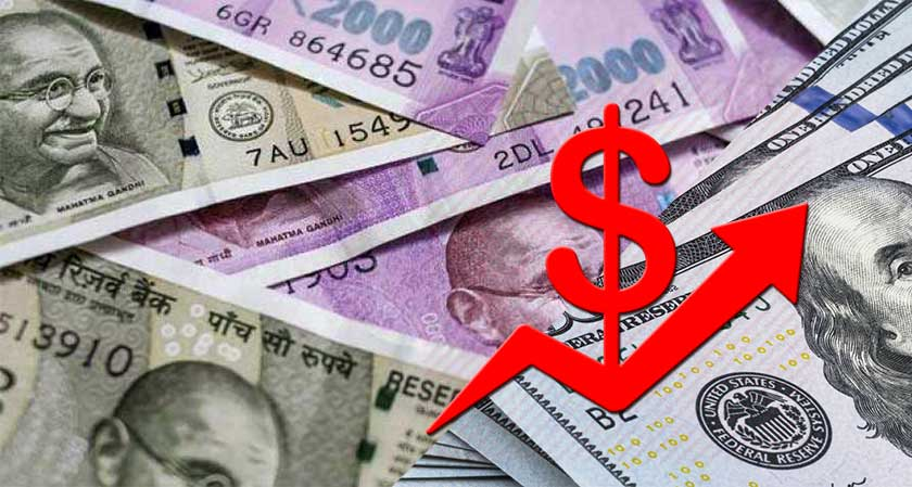 Rupee Continues to Plunge