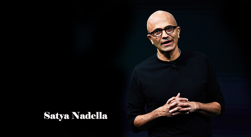 Microsoft CEO Satya Nadella shares his vision for the future of technology