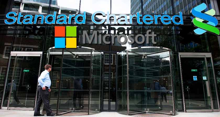 Standard Chartered has partnered with Microsoft to drive digital transformation