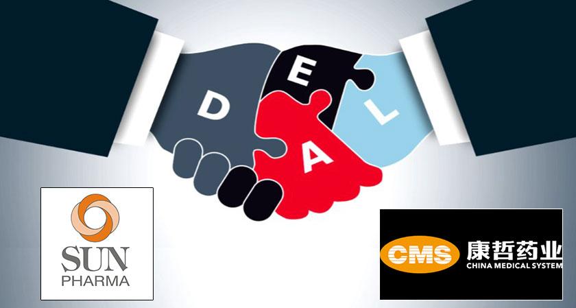 Sun Pharma Inks deal with Chinese Pharmaceutical Company
