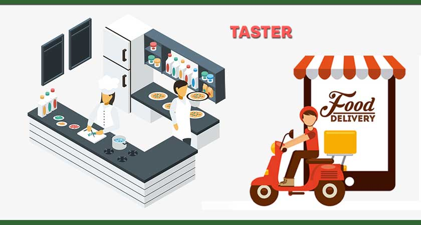 Taster Introduces the Concept of Kitchen Restaurants to the Online Food World