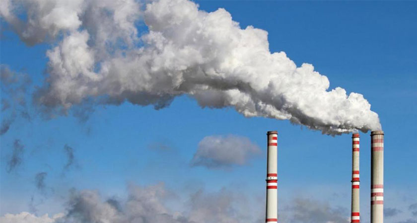 The burning of coal, oil and gas increases the CO2 emissions