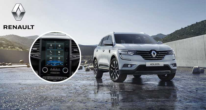 The Latest Tech for the New Renault Koleos