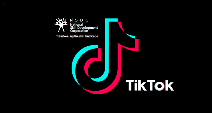 Tik Tok Bets on Indian Youth, Collaborates with NSDC