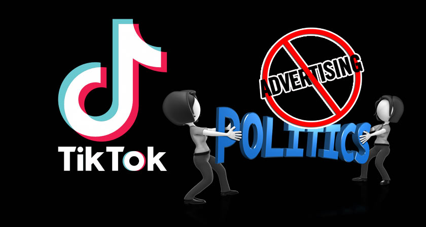 No more Political Advertising, Says TikTok