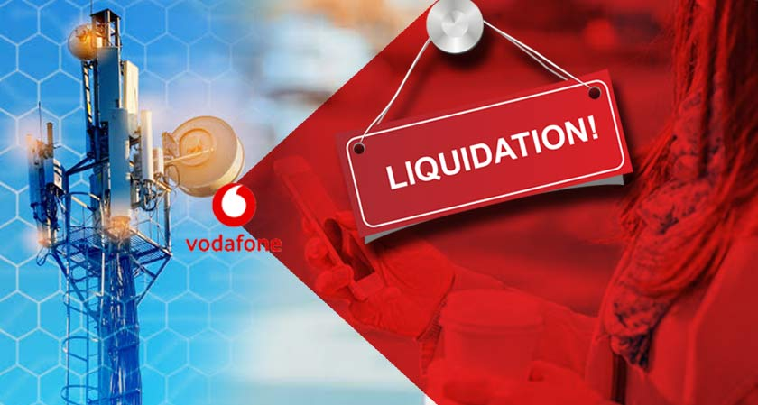 Vodafone (India) Headed For Liquidation