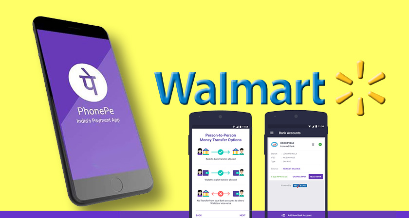 Walmart Join Hands with India's PhonePe