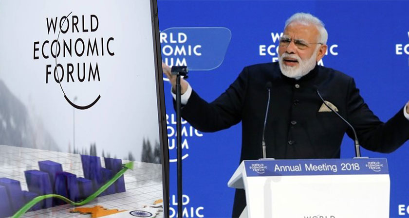 India Ranked 58th Most Competitive Economy in World Economy Forum Index