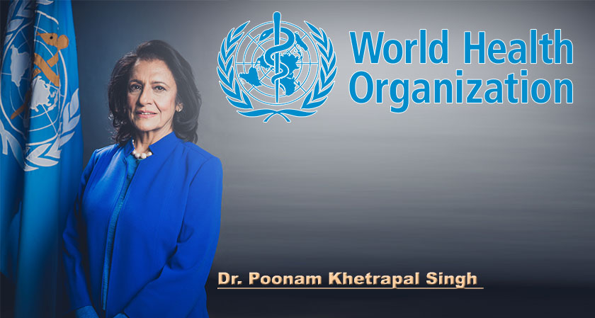 WHO Executive Board unanimously appoints Dr Poonam Khetrapal Singh as the Regional Director for South-East Asia