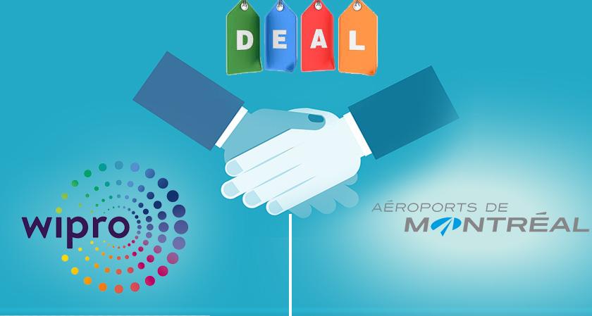 Wipro Bags Five year Deal with Aéroports de Montréal
