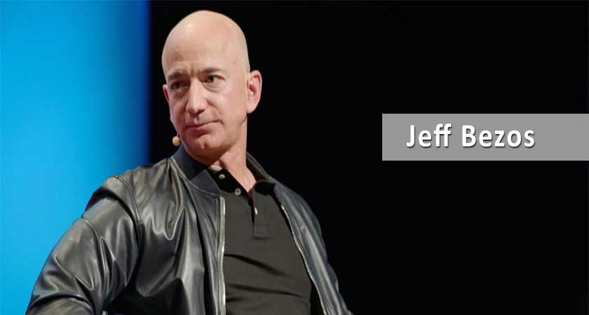 """Work Hard, Have Fun, Make History"", says Jeff Bezos"