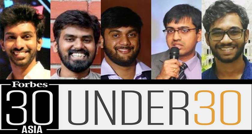 Young entrepreneurs from Hyderabad made it to the Forbes 30 Asia