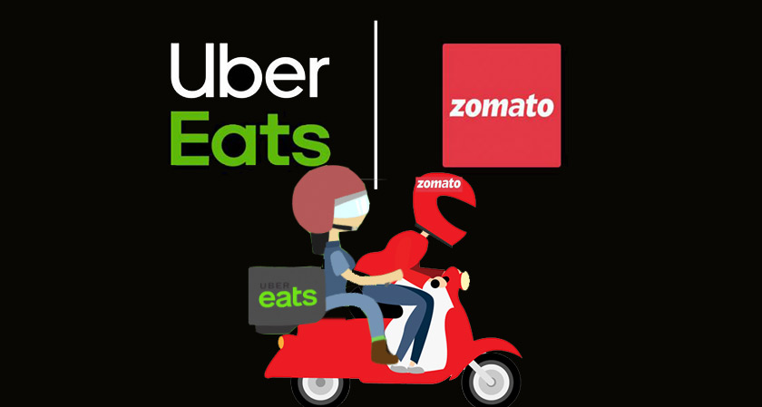 Zomato feasts on UberEats in an all-stock deal
