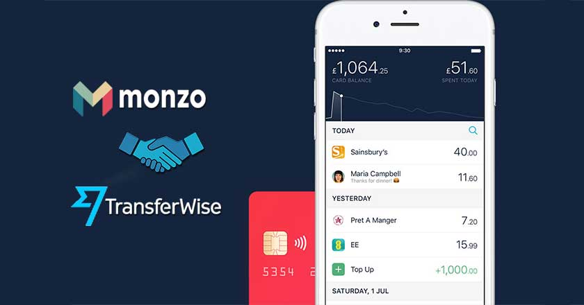 Monzo partners with TransferWise: another achievement for TransferWise