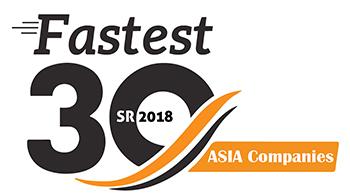 Fastest 30 Asia Companies 2018