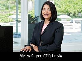 An Innovation Led Transnational Pharmaceutical Company Led by an Inspiring Stalwart, Vinita Gupta, CEO of Lupin