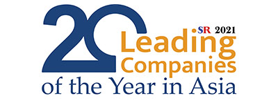 20 Leading Companies of the Year in Asia 2021